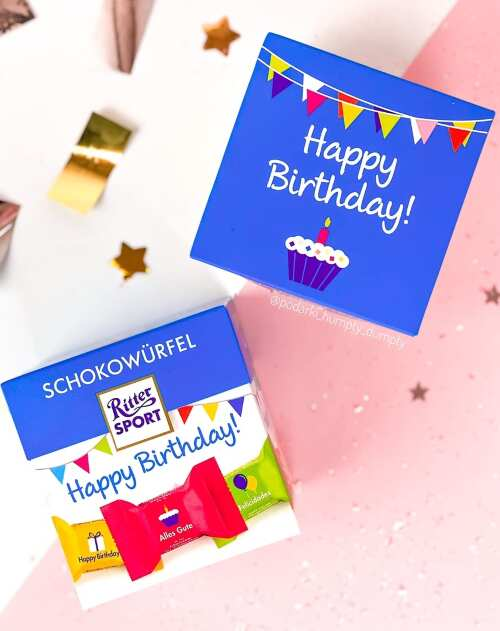 Ritter Sport Happy Birthday!